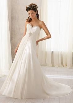 Mori Lee 5205- White Size 16