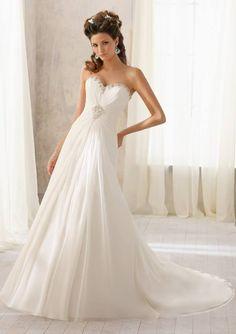 Mori Lee 5205- White Size 16