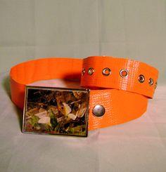 #Upcycled Vinyl #Belt Strap for Men or Women