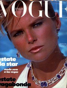 Christie Brinkley / Vogue Italia 1983