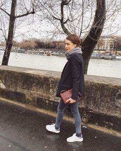 """200 mentions J'aime, 5 commentaires - Ludivine  (@ludivinelf) sur Instagram: """"Grey but good Parisian stroll …"""""""