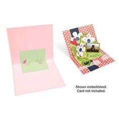 Sizzix Bigz Die - Card, Zig Zag 3-D (Pop-Up) $19.99