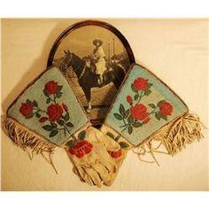 Cowgirl Beaded Gauntlets