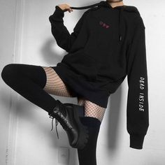 edgy outfits for guys Bad Girl Outfits, Adrette Outfits, Korean Outfits, Grunge Outfits, Casual Outfits, Fashion Outfits, Hipster Outfits, Gothic Outfits, Aesthetic Grunge Outfit