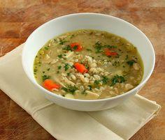 Chicken, Vegetable & Barley Soup