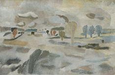 Ben Nicholson, Snowscape, 1927