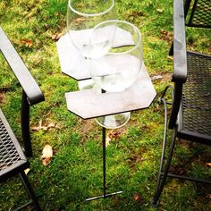 Michigan State Wine Glass Holder #michiganstate # spartans #gogreen