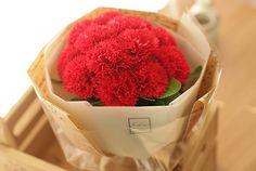 [바보사랑] 향기로운 비누카네이션 꽃다발 /조화/꽃다발/기념일/어버이날/스승의날/크라프트/크래프트/포장/비누꽃/감사/선물/Artificial flower/Bouquet/Mother/Father/Teacher/Craft/Packing/Soap Flower/Thanks/Gift