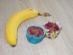 Bananen-Himbeer-Muffins