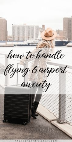 If airports and flying majorly freak you out, these tips will help you manage your travel anxiety and allow you fly with less stress, making it easier for you to relax on your trip. #traveltips