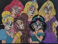 Sugar skull princesses