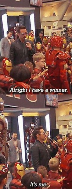 Funny pictures about Iron Man Contest. Oh, and cool pics about Iron Man Contest. Also, Iron Man Contest photos. Avengers Humor, Funny Marvel Memes, The Avengers, Dc Memes, Marvel Jokes, Funny Memes, Funny Videos, Funny Comics, Meme Meme