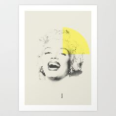 Marilyn Monroe | Esperantos | Dot-file #1 Art Print by Esperantos - $18.00