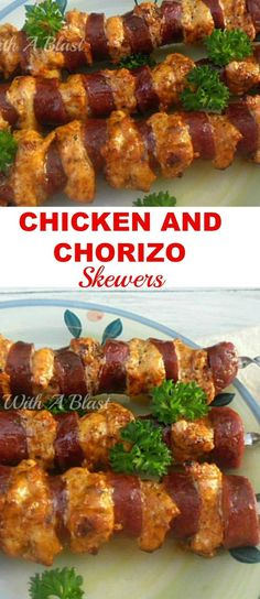 Easiest, most delicious Chicken skewers for your next BBQ {the secret is in the quick marinade!} (Chicken Marinade For The Grill) Grilled Chicken Recipes, Easy Chicken Recipes, Turkey Recipes, Lunch Recipes, Appetizer Recipes, Cooking Recipes, Grilled Meat, Marinade Chicken, Bbq Marinade