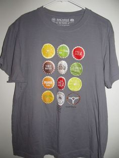 Bacardi Rum T Shirt Size XL Gray Mixes With Everything Except Driving 150 Years #Bacardi #GraphicTee