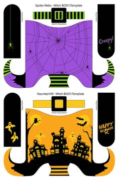 Como criar o futuro Vintage Halloween Cenas PDF por mieljolie