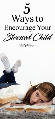 Do you feel helpless when your kid is stressed out? Wish you could do more? Here are five ways you can help your stressed child as a parent...via @Club31Women