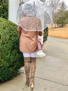 Rainy day outfit!