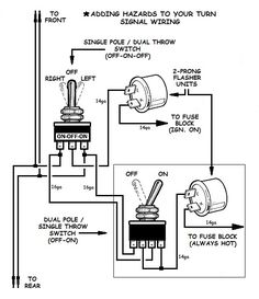 Motorcycle Turn Signal Wiring Diagram Tamahuproject Org At Universal on