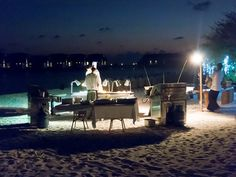 We head back to Cocoa Island (and its single restaurant) to cover the second meal of the day. This includes not only a superlative menu but a totally decadent seafood BBQ. Seafood Bbq, Recipe Of The Day, Cocoa, Restaurant, Island, Meals, Dinner, Dining, Meal
