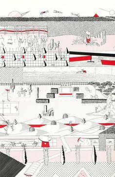 What Is and What Will Never Be:    OMA/Rem Koolhaas, Parc de La Villette, Paris, France, 1982