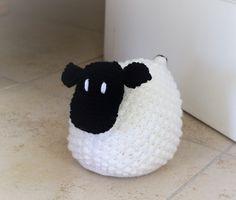 Sheep Doorstop Knitting Pattern