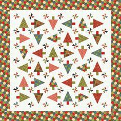 Scrap Dance Waltz Quilt Along! : christmas tree quilt pattern moda - Adamdwight.com