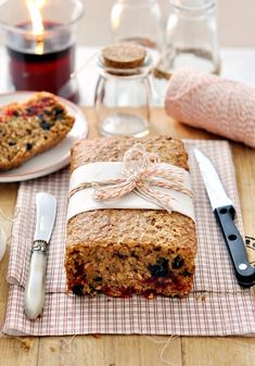 5-cup Christmas fruit loaf - every measure is a cup, so easy