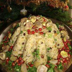 Food Decoration, Pasta Salad, Cauliflower, Meat, Chicken, Vegetables, Cooking, Ethnic Recipes, Crab Pasta Salad