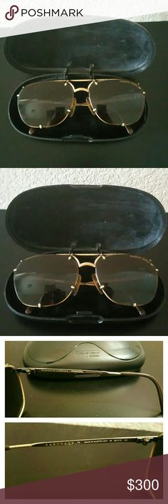 ec3a2eb81db6 Porsche Design by Carrera Sunglasses and case Glasses are in EXCELLENT  shape, NO SCRATCHES at