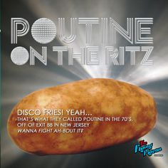 Poutine on the Ritz, dahhhhling!!! Yes! And we can do it for you with style or naked. Fresh cut on the truck, fried, tossed in minced garlic and sea salt - the the best part - the sauce! OMG the sauce!  ----------- Fresh cut spuds at the back of the truck * Blanched in secret something *  ------------------ #poutineontheritz #freshcutspuds #ritzy  #‪passionatefood‬ ‪#‎gourmetcasual‬ ‪#‎passporttoflavor‬