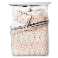 Global Diamond Comforter Set Multicolor - Threshold™ : Target