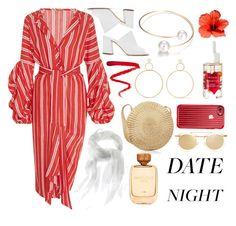 """Date night"" by linjimenez ❤ liked on Polyvore featuring Johanna Ortiz, Maryam Nassir Zadeh, Natasha Schweitzer, Ellis Faas, Casetify and Thierry Lasry"
