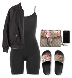 """""""Tired ."""" by princess-alexis18 ❤ liked on Polyvore featuring SPANX and Gucci"""