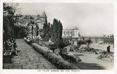 Italian Gardens, Penarth, Wales Italian Garden, Cymru, Cardiff, Northern Ireland, Welsh, Newport, Old Photos, Postcards, United Kingdom