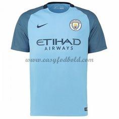 Fodboldtrøjer Premier League Manchester City 2016-17 Hjemmetrøje