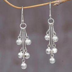 Inspiring Reasons I Love Jewelry Ideas. Intoxicating Reasons I Love Jewelry Ideas. Sterling Silver Dangle Earrings, Beaded Earrings, Earrings Handmade, Diy Earrings Dangle, Pendant Necklace, Handmade Beaded Jewelry, Antique Earrings, Handmade Silver, Antique Jewelry