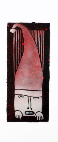 Dwarf Electrician stencil art spray painting by SlumsiTutka