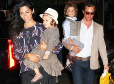 Forget Magic Mike. We're talking about Magic Matt. Matthew McConaughey that is. The actor is on an extraordinary run of good luck in the last month with his hit stripper flick Magic Mike, marriage to super-hot longtime love Camila Alves and now the newlywed couple is expecting their third child. See, good things really do come in threes.    So how did Matty Mac break the happy news?