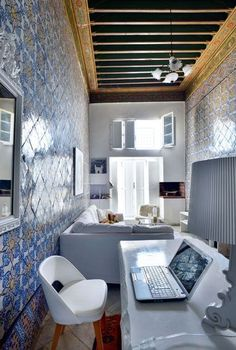 Original office in Tunis | More photos http://petitlien.fr/palaisrock