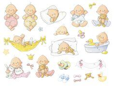 Crie e Faça Você Mesmo : Moldes para imprimir para o seu chá de bebê.