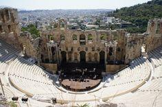 紀元前の遺跡を中心に広がる街、アテネ。〜ギリシャ〜