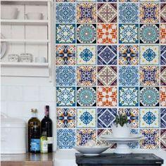Adesivo para Azulejo - Mix Azulejos Coloniais