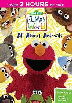 Caroll Spinney & Kevin Clash & Ken Diego & Victor DiNapoli-Sesame Street: Elmo's World - All About Animals: The Complete First Season