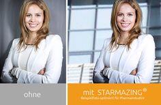 Starmazing® Bildbearbeitung für Bewerbungsfotos. Individualisieren Sie Ihren Hintergrund!
