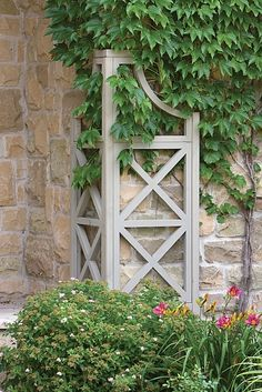 Yardistry Garden Corner Climber Garden Corner ClimberIdeal as a trellis, accent or corner feature, alone or in groups, this Yardistry structure Garden Arbor, Garden Trellis, Garden Gates, Garden Landscaping, Landscaping Ideas, Cedar Trellis, Arbors Trellis, Dream Garden, Home And Garden