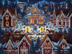 Gingerbread House by Eric Dowdle