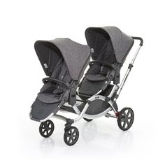 Descripción La carriola doble de tus bebés Déjete inspirar por la variedad de colores de las telas. Con nuestros sets intercambiables podrás dar rienda suelta a