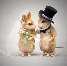Forever - Bride And Groom Mouse Set