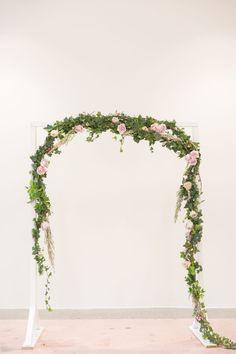 Gorgeous floral wedding background